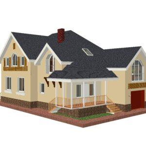 Жилые дома 200 - 350 кв.м