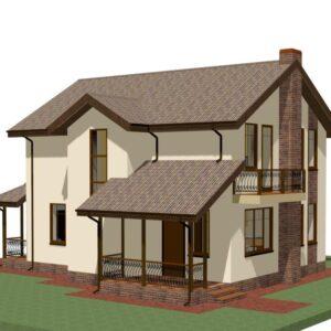 Жилые дома 150 - 200 кв.м
