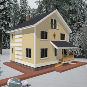 Жилые дома 100 - 150 кв.м